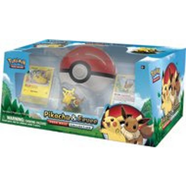 Pokemon Trading Card Game: Pikachu and Eevee Poke Ball Collection