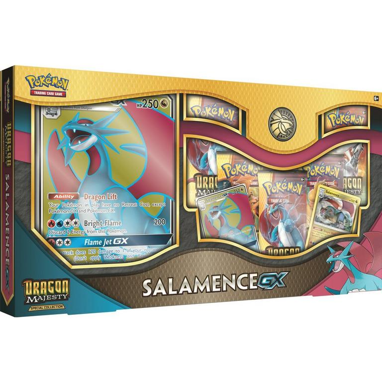 Dragon Majesty Special Collection Salamence-GX/White Kyurem-GX