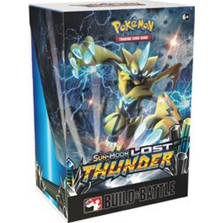 Pokemon Trading Card Game: Sun & Moon Lost Thunder Build & Battle Box on