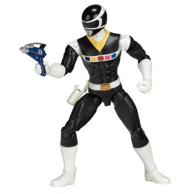 Power Rangers Legacy 6 inch Figure: In Space - Black Ranger