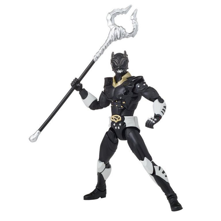 Power Rangers Legacy 6 inch Figure: Psycho Rangers - Black Ranger