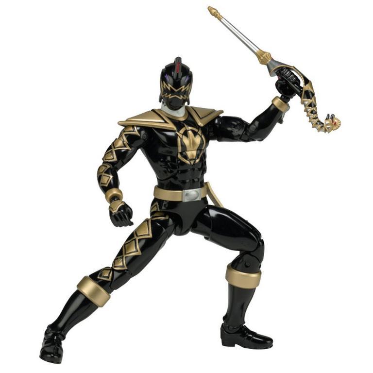 Power Rangers Legacy 6 inch Figure: Dino Thunder - Black Ranger