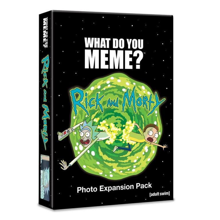 What Do You Meme? Card Game Rick and Morty Expansion Pack
