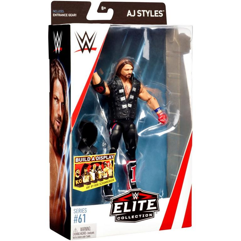 WWE AJ Styles Elite Collection Series 61 Action Figure