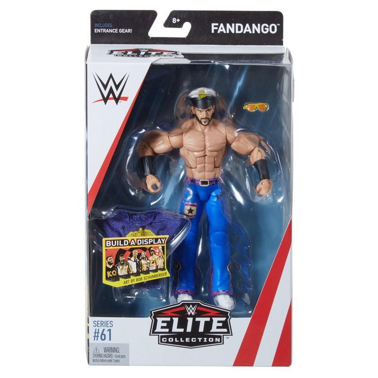 WWE Fandango Elite Collection Action Figure