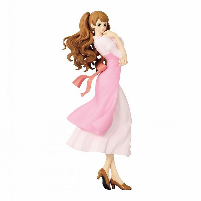 One Piece Charlotte Pudding Pink Glitter and Glamours Statue