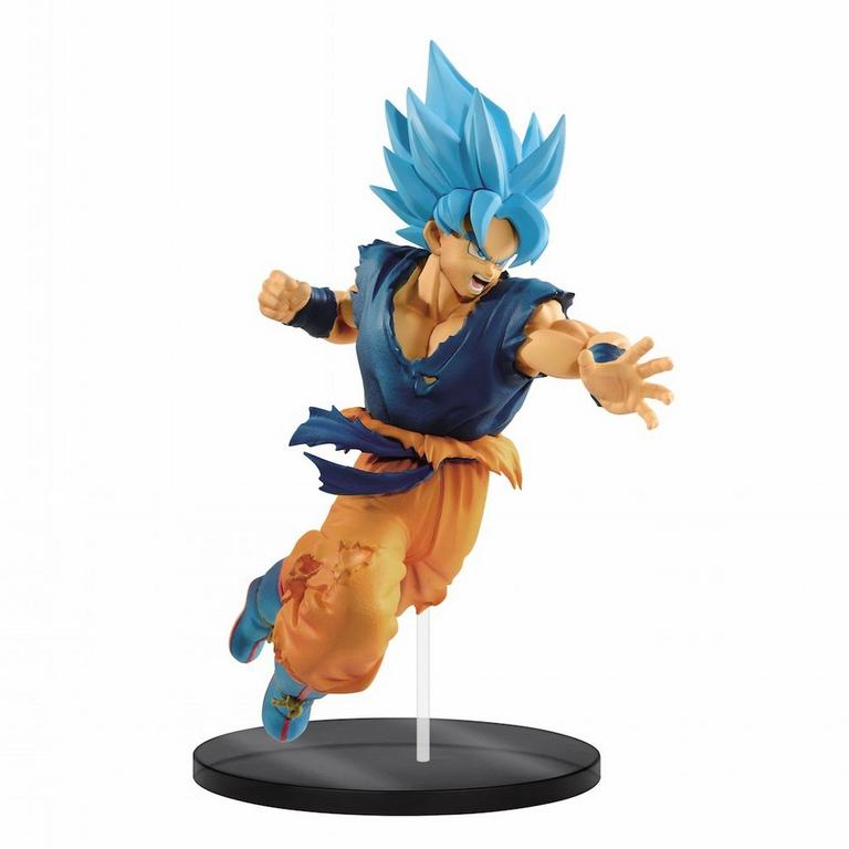 Dragon Ball Super: Broly Super Saiyan Blue Son Goku Ultimate Soldiers The Movie II Statue