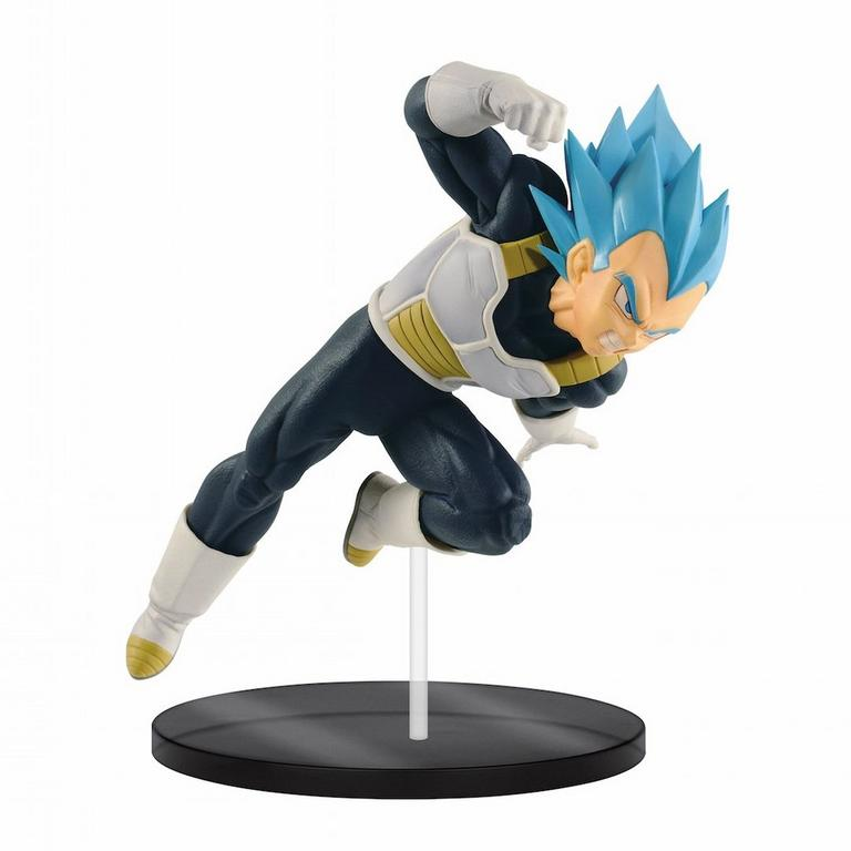 Dragon Ball Super: Broly Super Saiyan Blue Vegeta Ultimate Soldiers The Movie III Statue