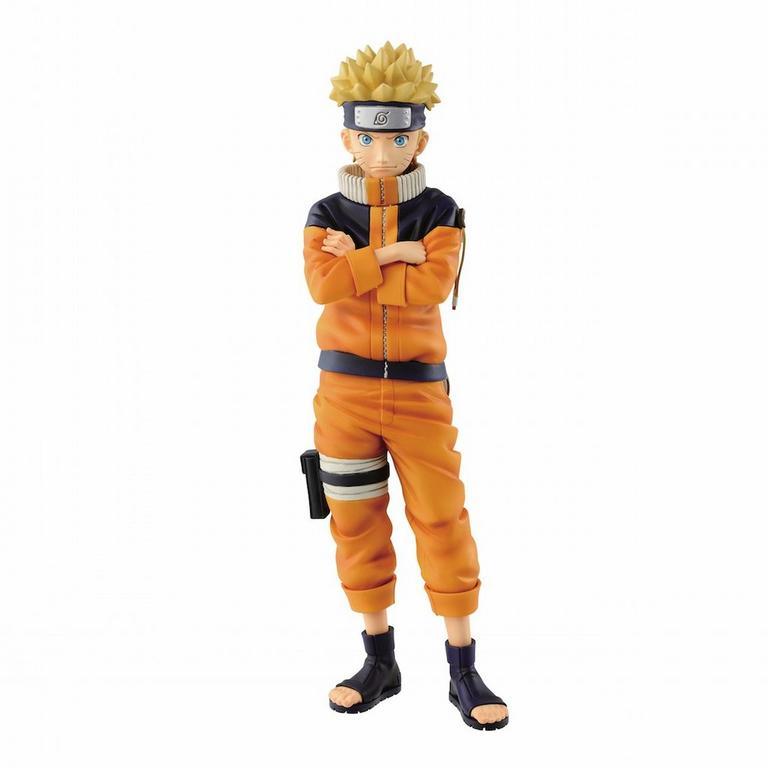 Naruto: Grandista - Shinobi Relations - Uzumaki Naruto #2 Figure