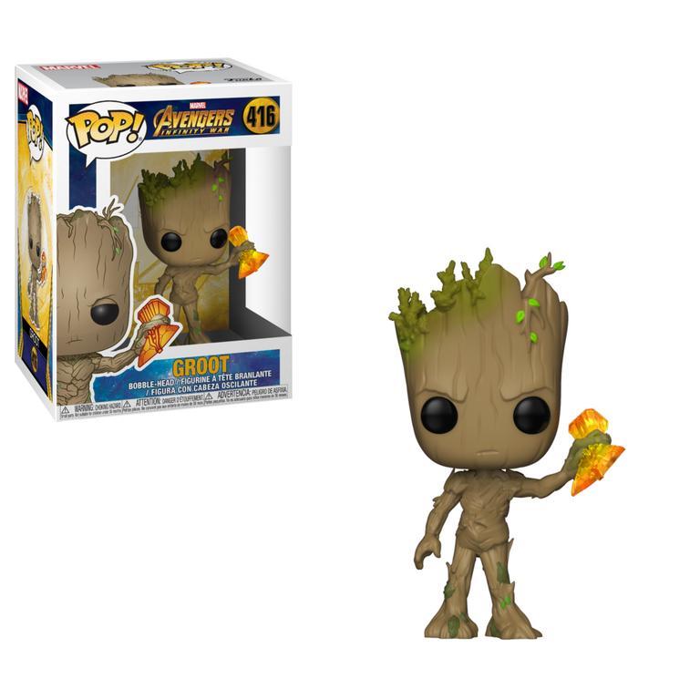 POP! Marvel Avengers Infinity War Groot with Stormbreaker
