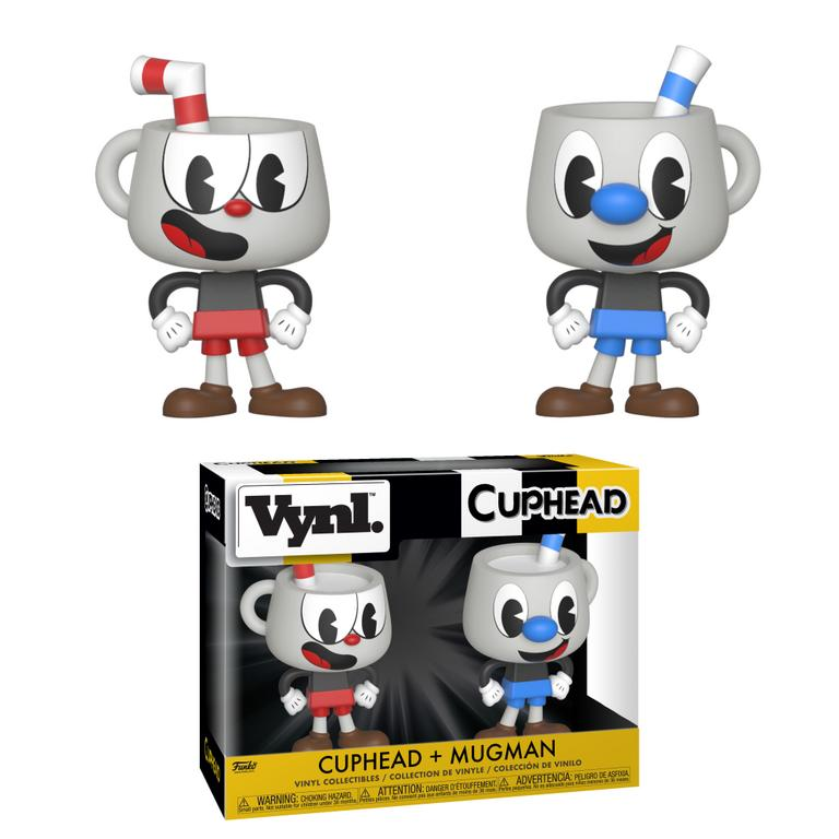VYNL: Cuphead and Mugman 2 Pack