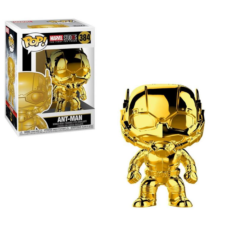 POP! Marvel Studios The First 10 Years: Ant-Man Gold Chrome