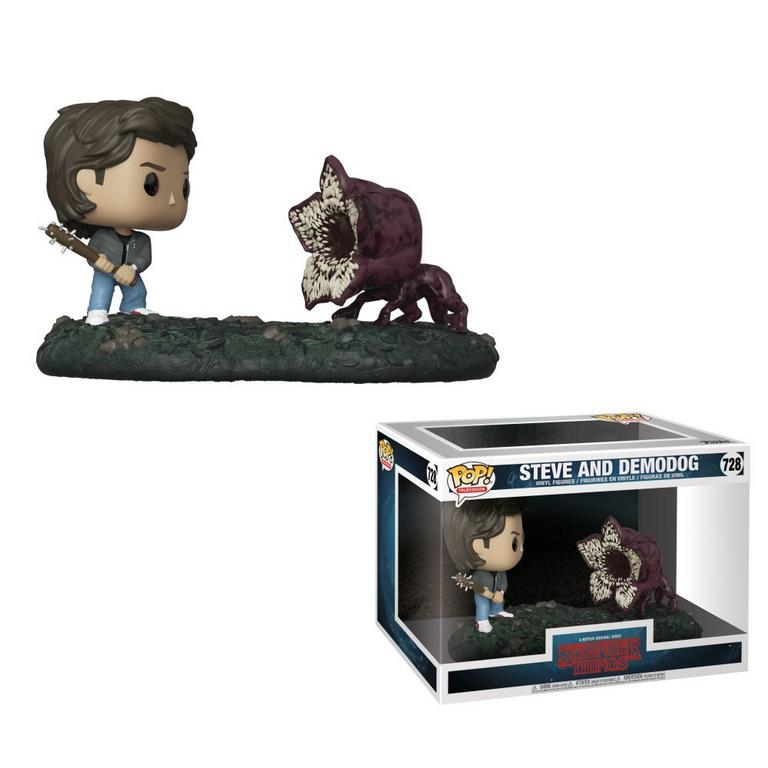POP! Movie Moments: Stranger Things - Steve vs Demodog