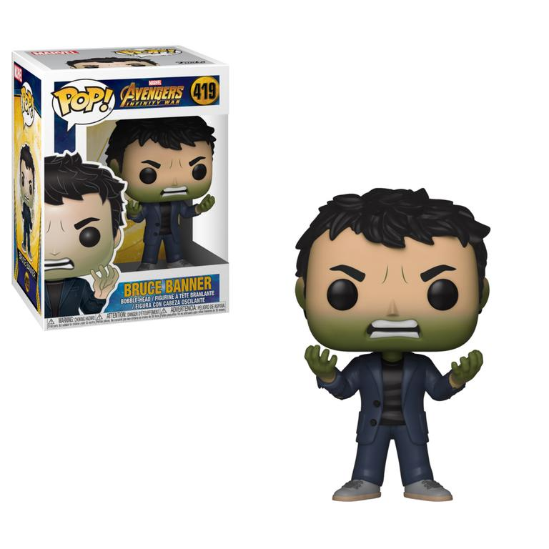 POP! Avengers Infinity War: Bruce Banner with Hulk Hands