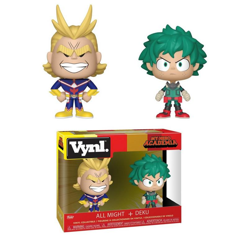 POP! VYNL: My Hero Academia All Might + Deku 2 Pack