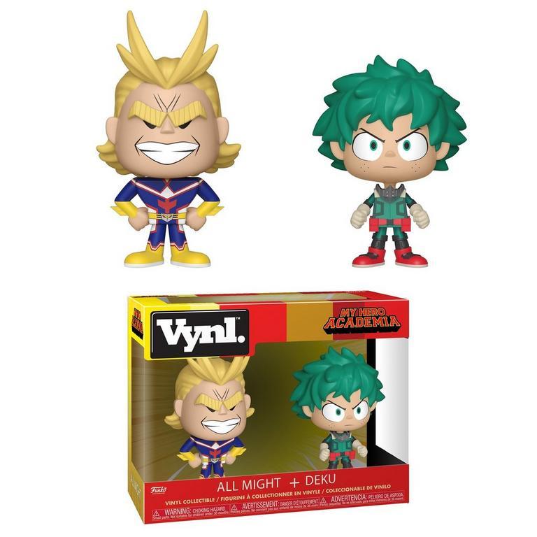 POP! VYNL: My Hero Academia All Might + Deku 2 Pack