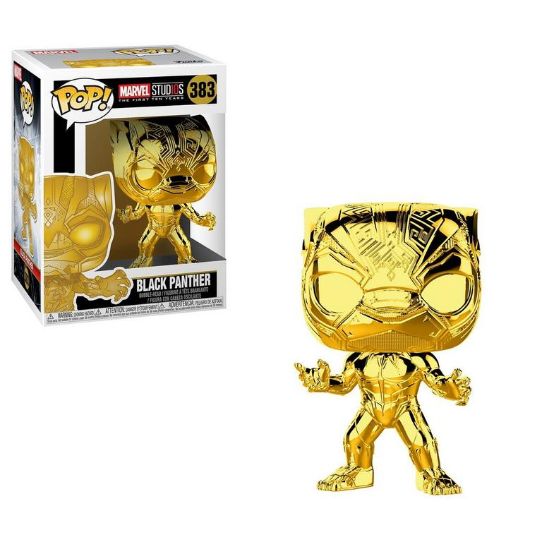 POP! Marvel Studios The First Ten Years: Black Panther Gold Chrome