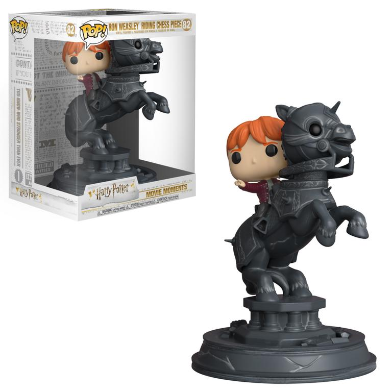 Pop! Harry Potter Ron Riding Chess Piece Figure