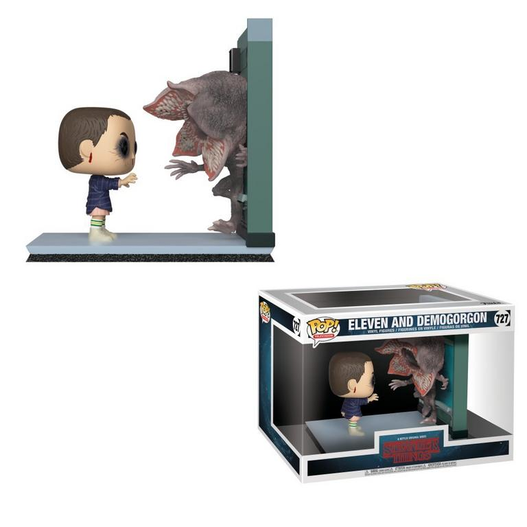 POP! Movie Moments: Stranger Things - Eleven and Demogorgon