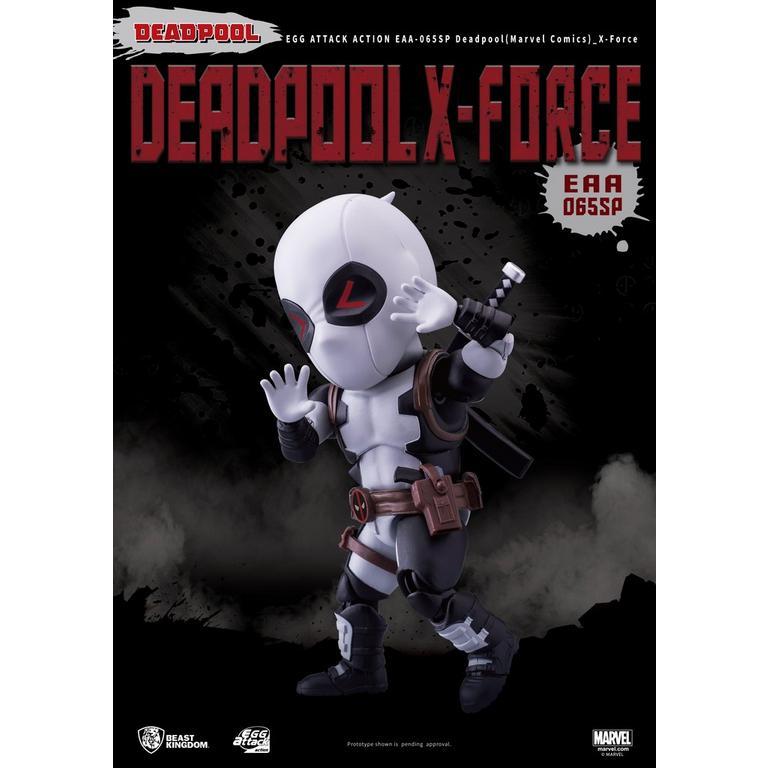 Deadpool X-Force Suit Egg Attack Action Figure