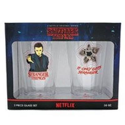 Stranger Things Pint Glass 2 Pack