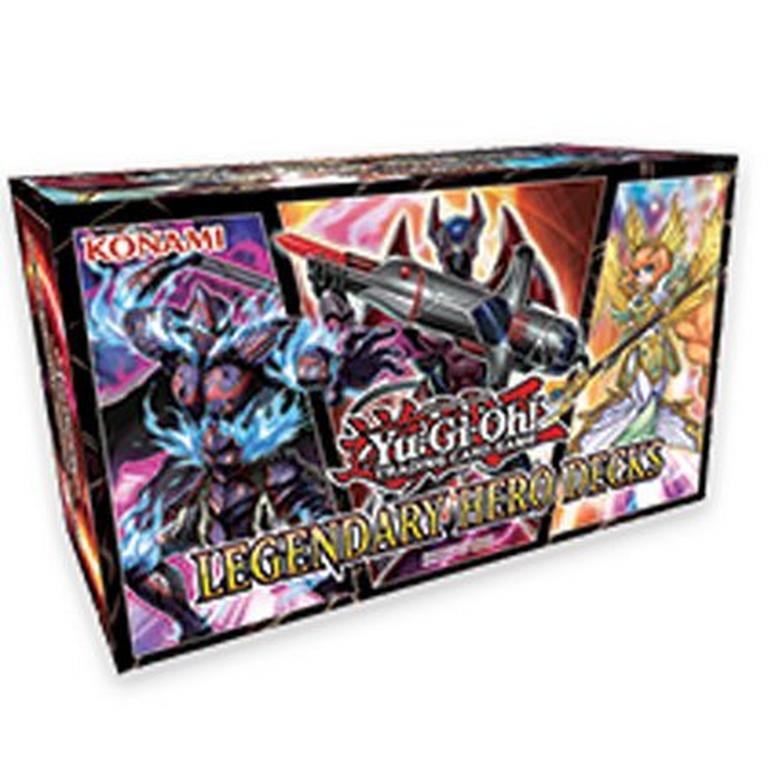Yu-Gi-Oh! Legendary Hero Decks Trading Cards