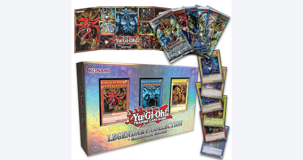 Yu-Gi-Oh! Legendary Collection Series 1 Trading Cards