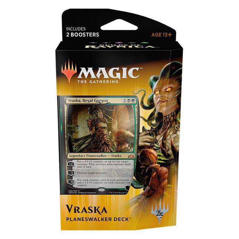Magic the Gathering: Guilds of Ravnica Planeswalker Deck Trading Cards