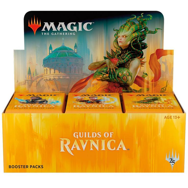 Magic the Gathering: Guilds of Ravnica Blister Box (36) Trading Cards