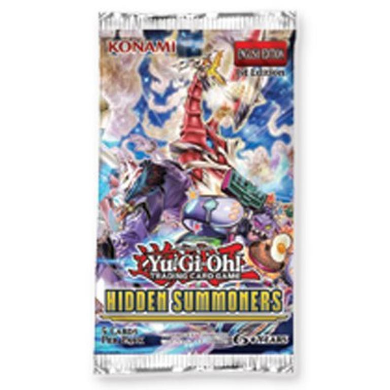 Yu-Gi-Oh! Hidden Summoners Blister Pack