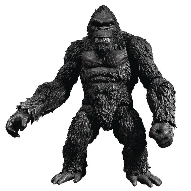 King Kong Of Skull Island 7 Inch Action Figure- Black & White Version