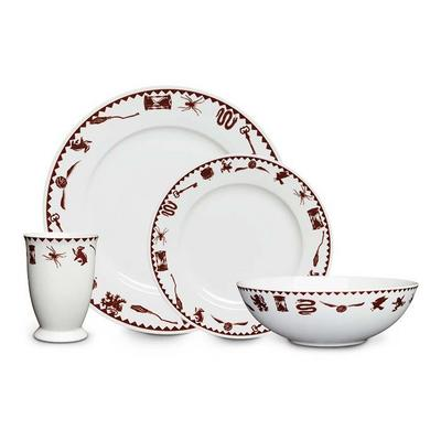 Harry Potter Grim 4 Piece Dinner Set