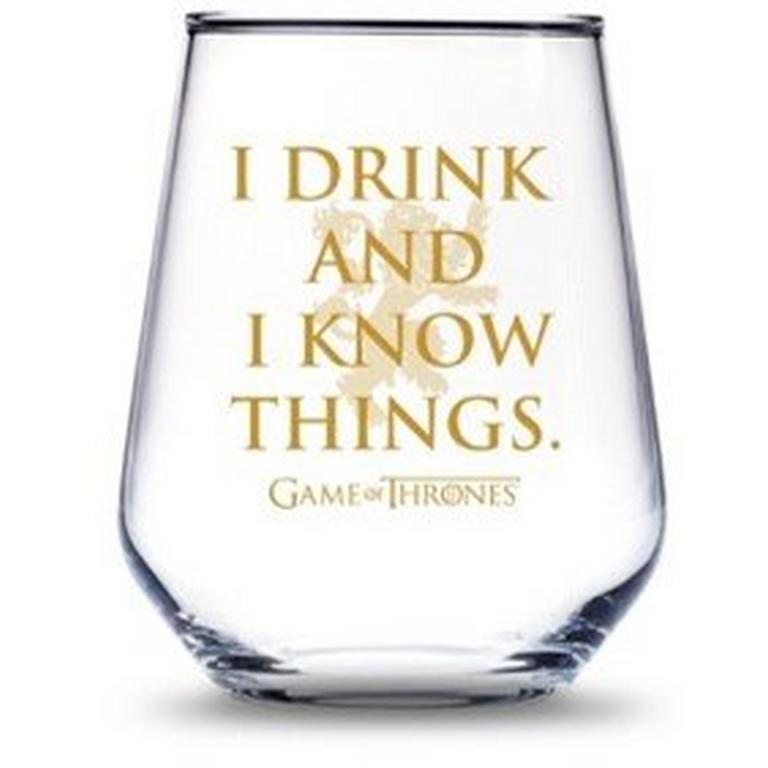 Game of Thrones House Lannister Wine Glass