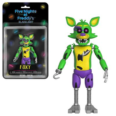 Five Nights at Freddy's 5 inch Action Figure - Blacklight Foxy