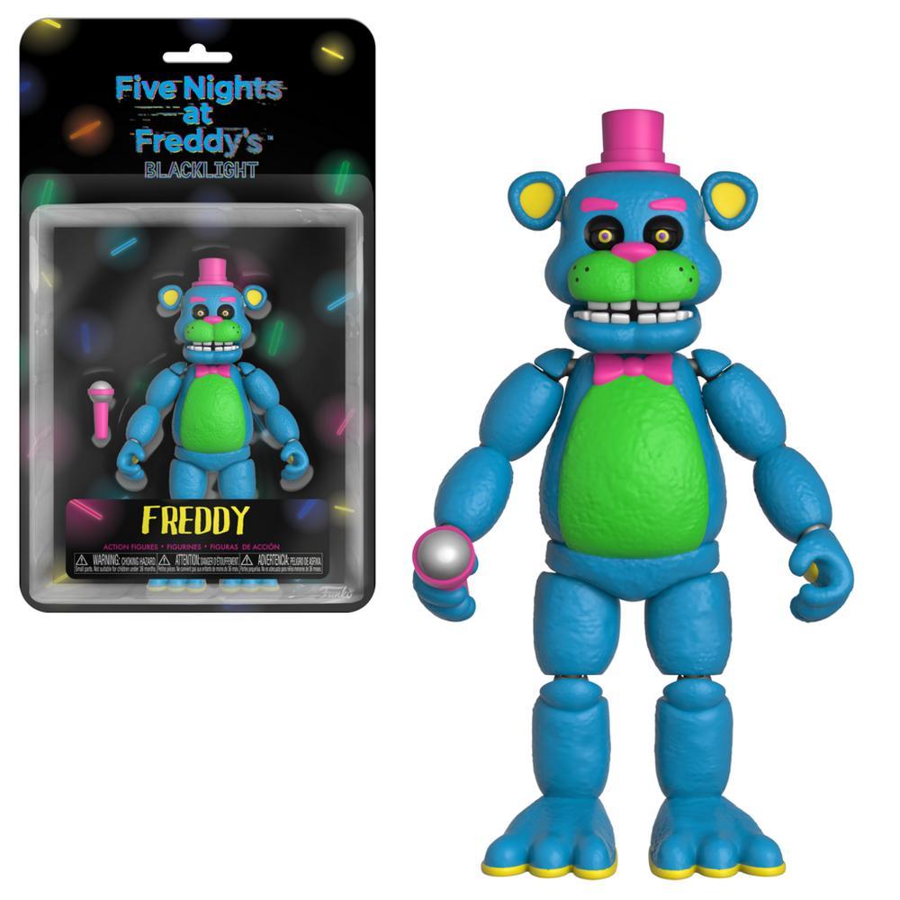 Five Nights at Freddy's 5 inch Action Figure - Blacklight Freddy | GameStop