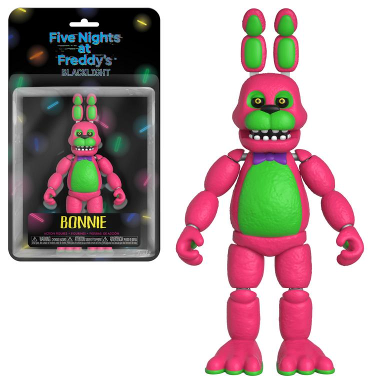 Five Nights at Freddy's 5 inch Action Figure - Blacklight Bonnie