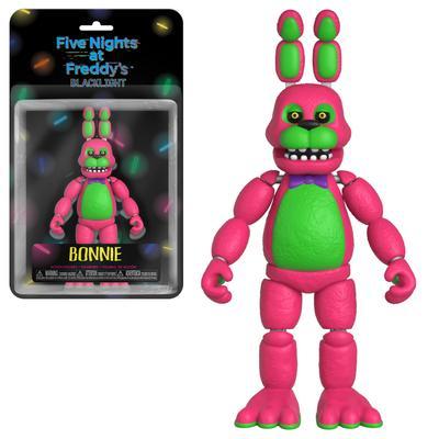 Five Nights at Freddy's Blacklight Bonnie Figure