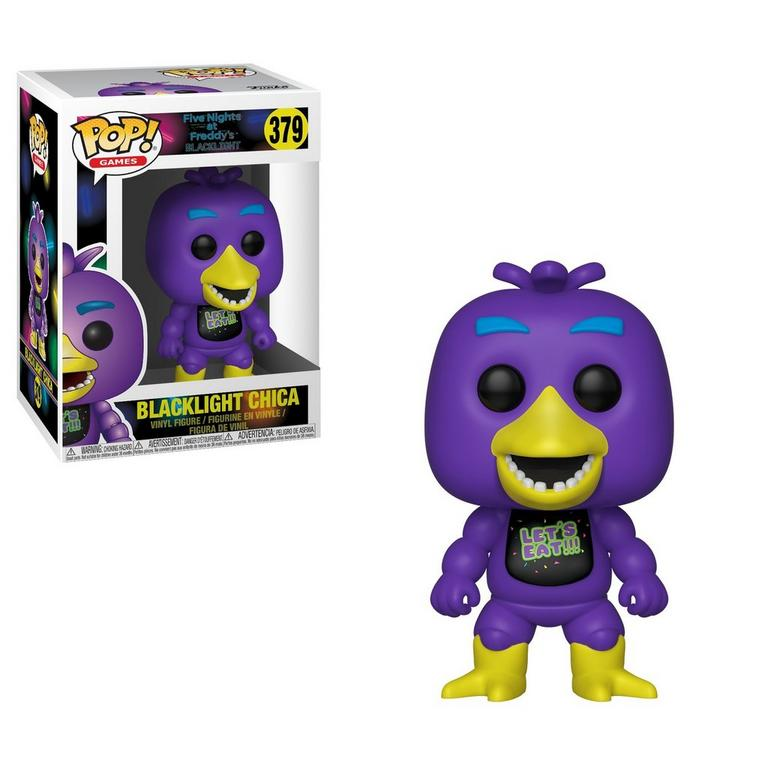 POP! Games: Five Nights at Freddy's - Blacklight Chica