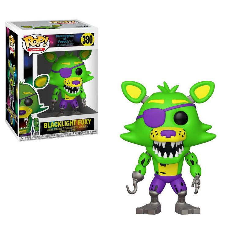 POP! Games: Five Nights at Freddy's - Blacklight Foxy Pirate