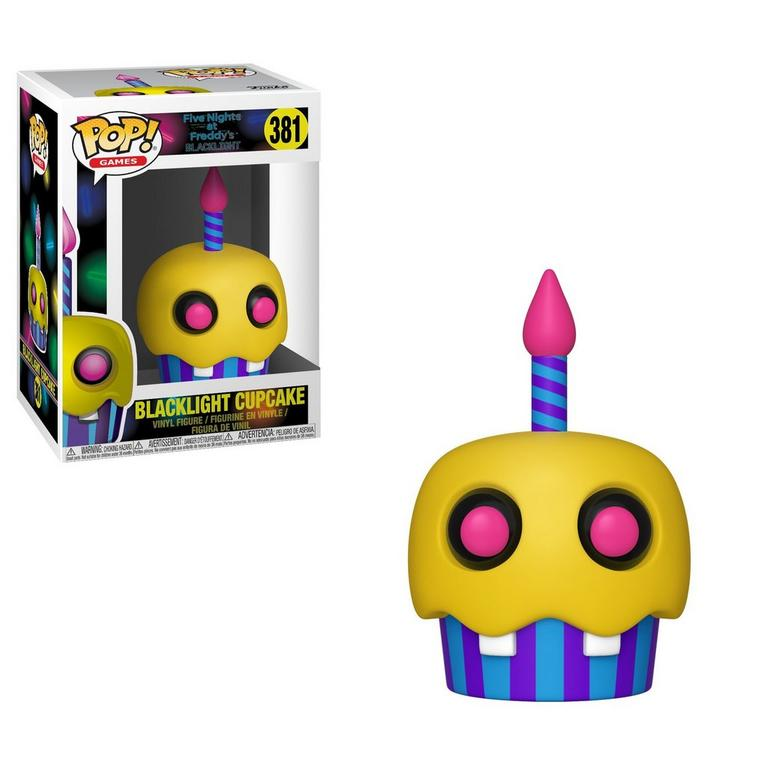 POP! Games: Five Nights at Freddy's Blacklight Cupcake