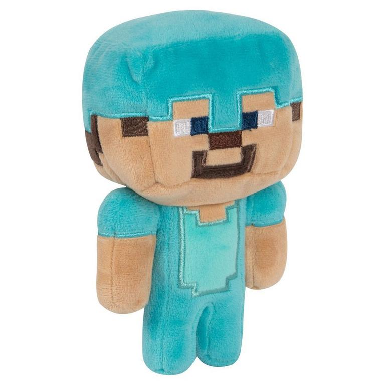 Minecraft Happy Explorer Diamond Steve Plush