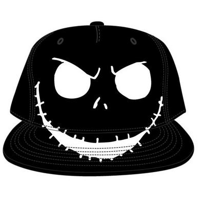 The Nightmare Before Christmas Jack Skellington Big Face Baseball Cap