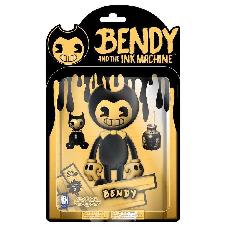 Bendy and the Ink Machine: Yellow Bendy Action Figure