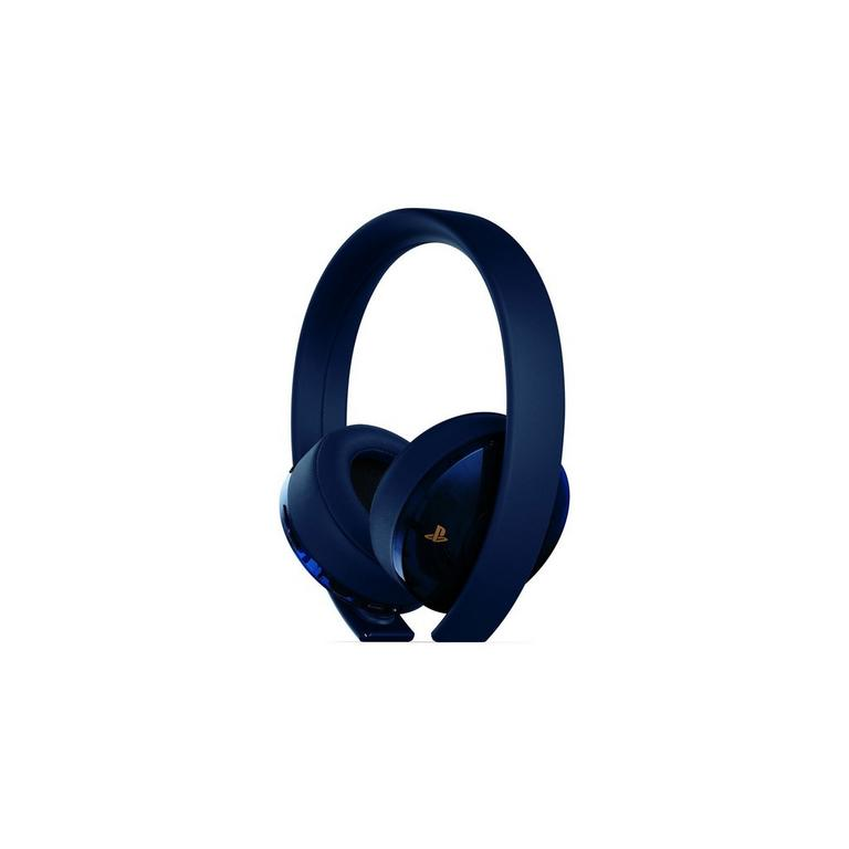 PlayStation New Gold Wireless Headset - 500 Million Limited Edition