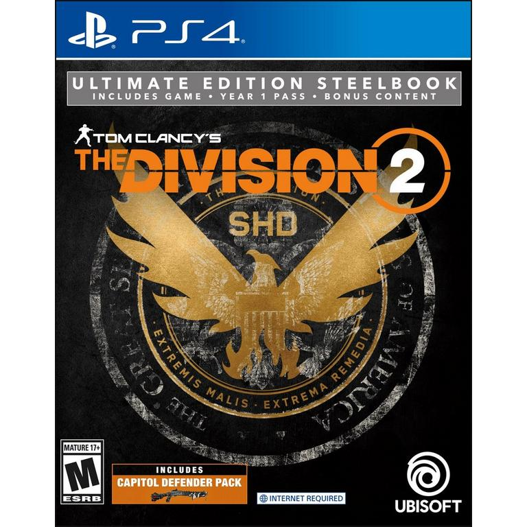 Tom Clancy's The Division 2 Steelbook Ultimate Edition - Only at GameStop