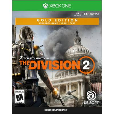 Tom Clancy's The Division 2 Steelbook Gold Edition