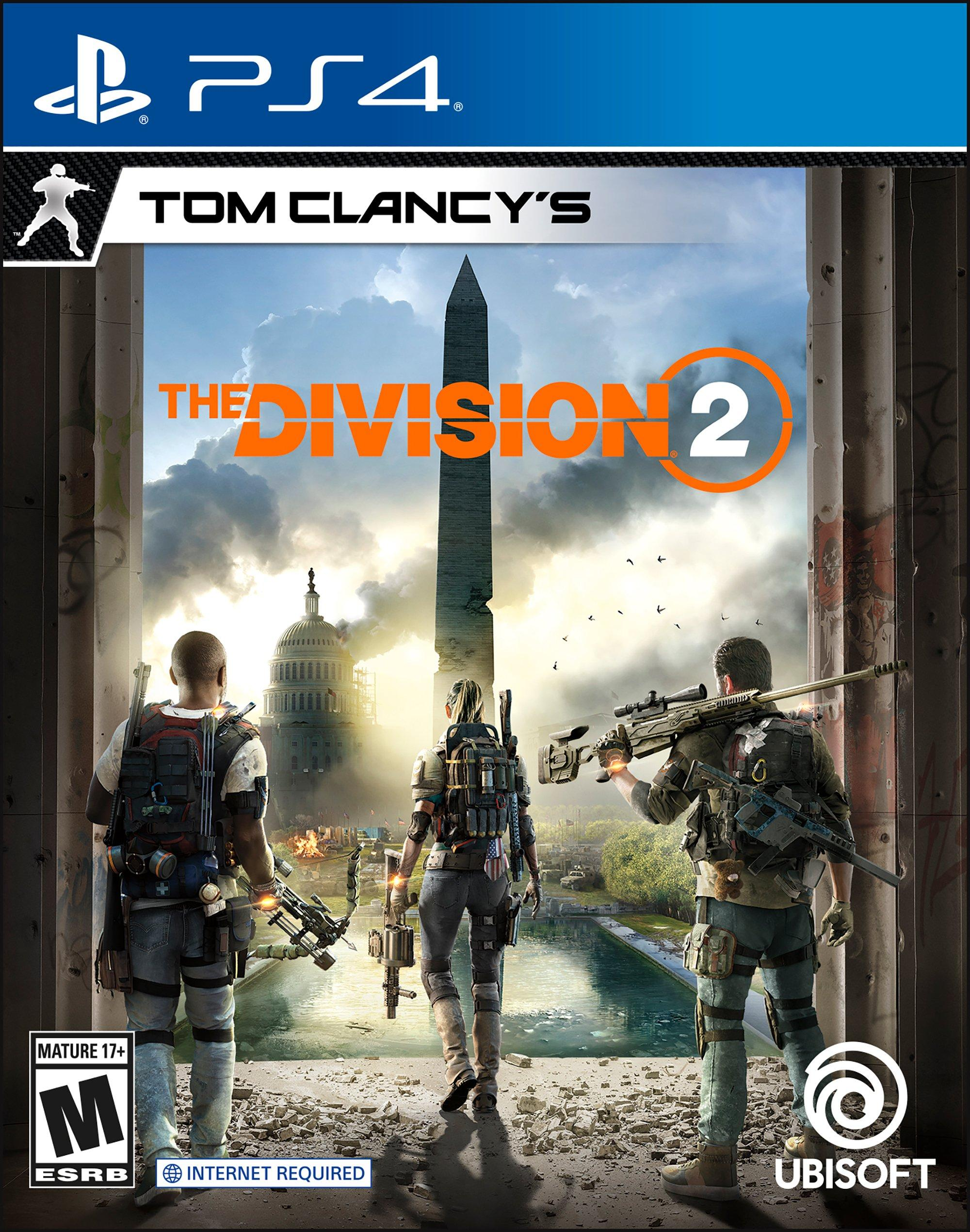 Tom Clancy S The Division 2 Playstation 4 Gamestop