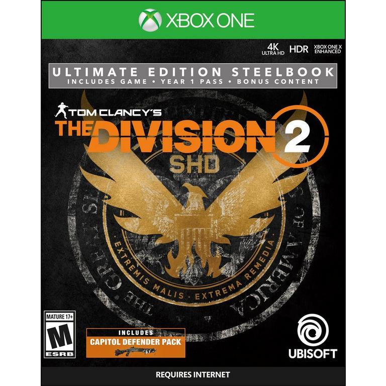 Tom Clancy's The Division 2 Steelbook Ultimate Edition Only at GameStop