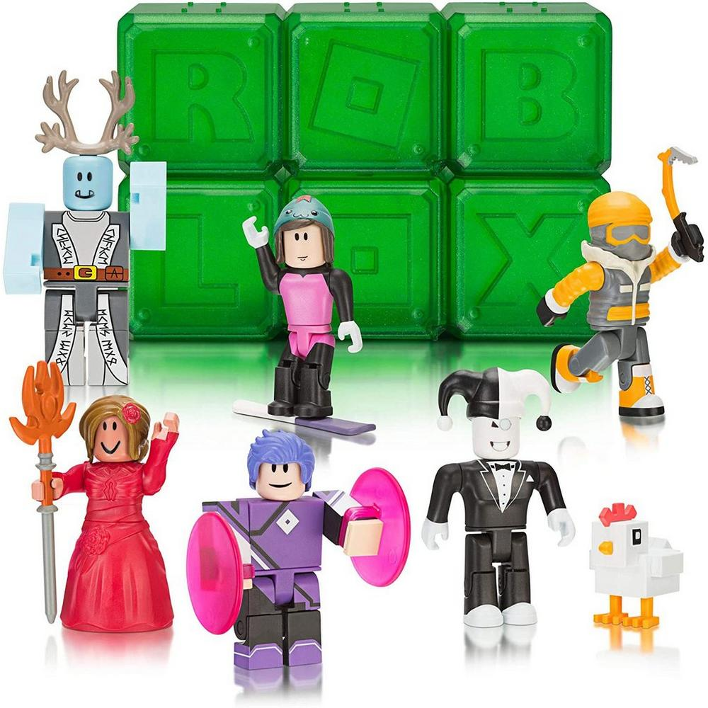 Roblox Mystery Box Series 3 - Roblox Mystery Figures Series 4 Gamestop