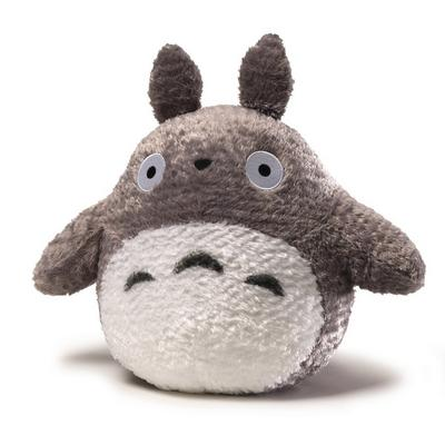 Fluffy Totoro Grey Plush